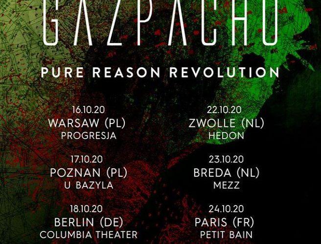 Dwa koncerty Gazpacho w Polsce