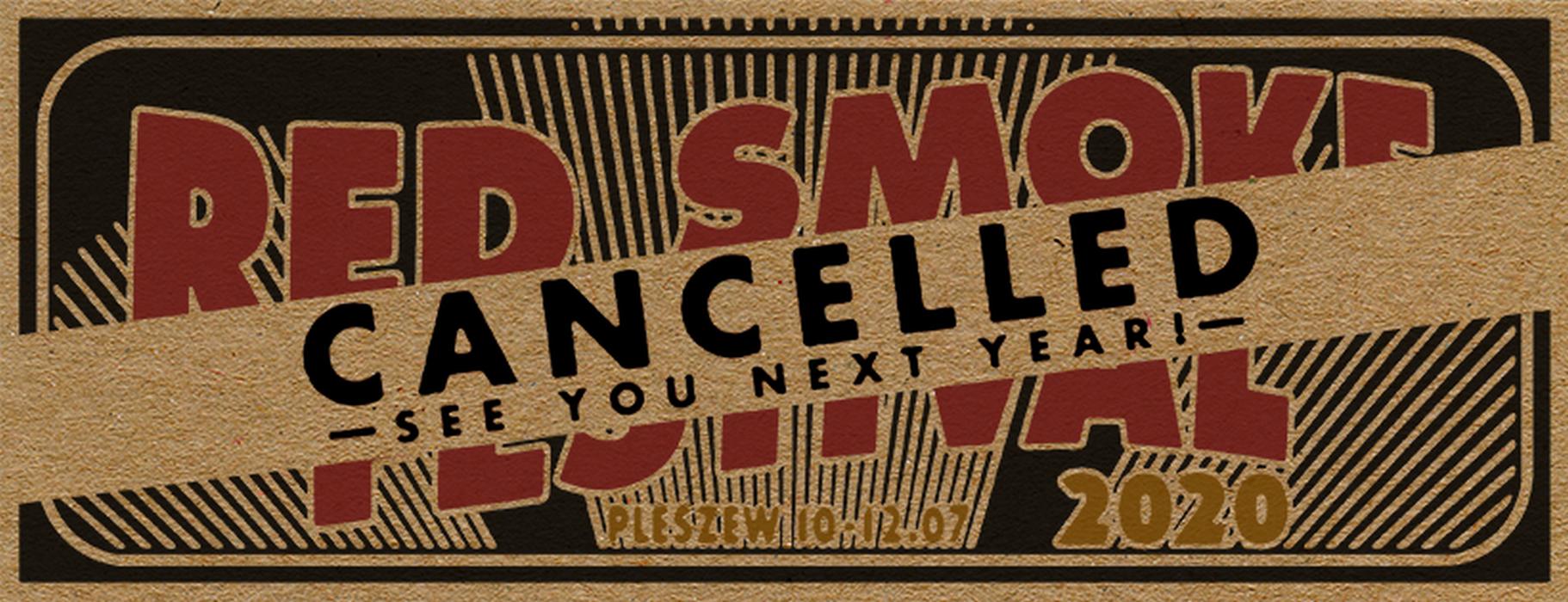 Red Smoke Festival 2020 odwołany